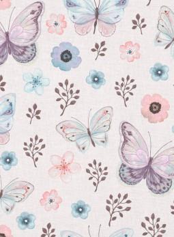 D18 - Motylki kwiaty